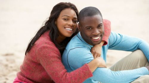 ghana black couple